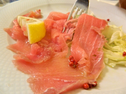 French tuna drenched in olive oil. Can fresh be fresher than fresh?