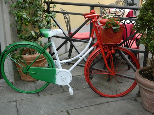Italian bici. Very clever!