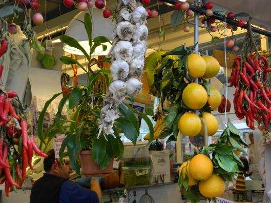 Pretty displays of produce.