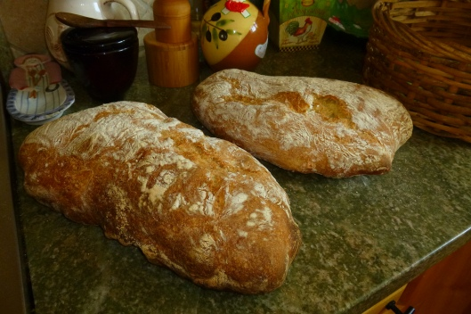 Ciabatta made with love by Eva. Divine.