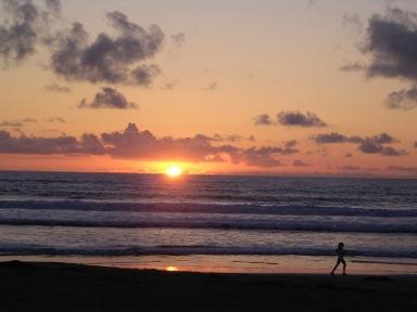 Mar.sunset Mission BeachCA