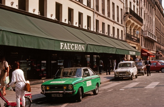 I window-shopped Fauchon at every opportunity.