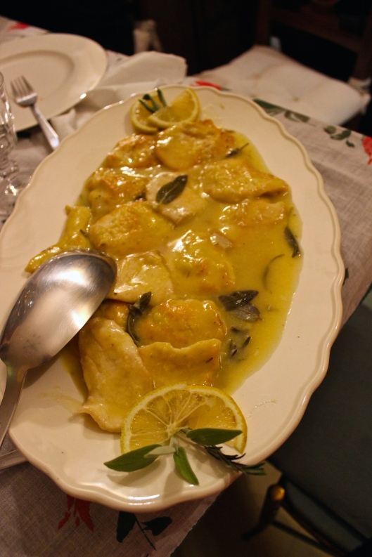 Il secondo. Tuscan chicken.