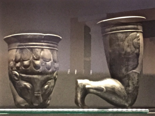 Clever and unique bronze vessels. 4-6th century B.C.