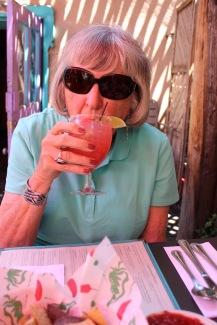 Mom's Blood Orange Margarita.