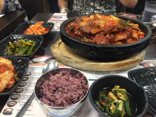 Koreatown sides